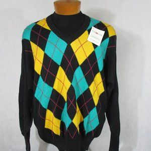 New With Tag  Clark & Gregory Mens V Neck Pullover